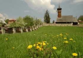 Olanesti - Biserica din Albac